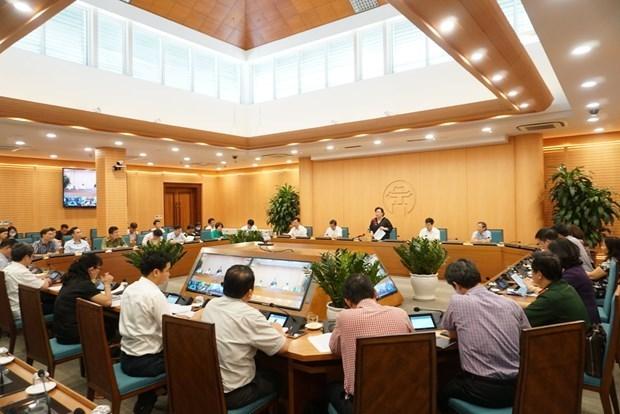 Hanoi renforce la prevention du Covid-19 pour la reouverture des vols internationaux hinh anh 2