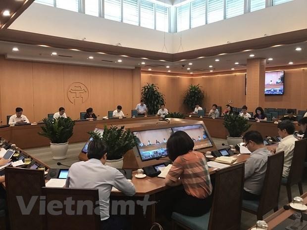 Hanoi renforce la prevention du Covid-19 pour la reouverture des vols internationaux hinh anh 1