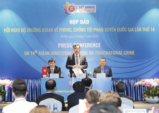 L'ASEAN se reunira sur la lutte contre la criminalite transnationale hinh anh 1