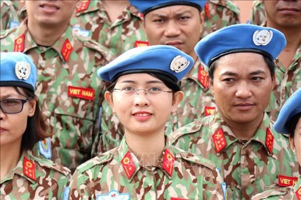 Le role des femmes dans la consolidation de la paix est promu hinh anh 1