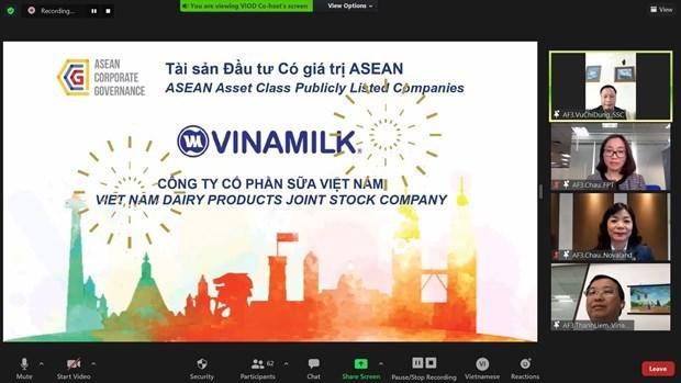 "Vinamilk honoree en tant qu'""ASEAN Asset Class"" hinh anh 1"