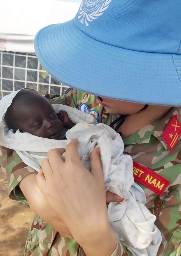 Les Casques bleus vietnamiens et l'aspiration a la paix mondiale hinh anh 5