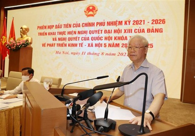 Le secretaire general du Parti donne un horizon au gouvernement hinh anh 1