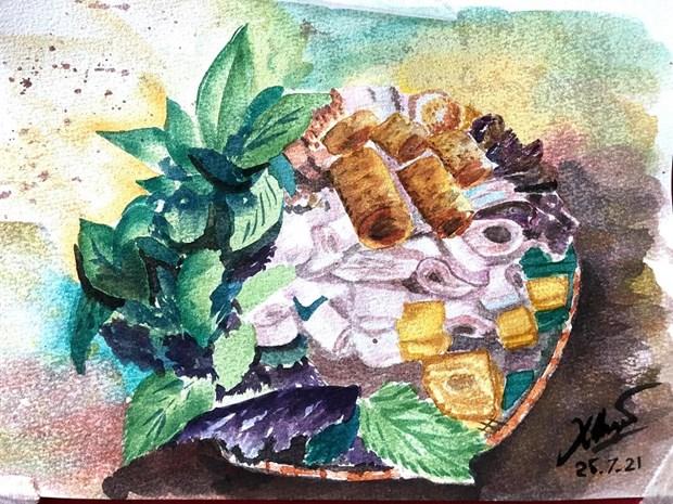 Les croquis des delices de Hanoi epatent la galerie hinh anh 1