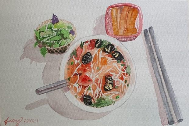 Les croquis des delices de Hanoi epatent la galerie hinh anh 4