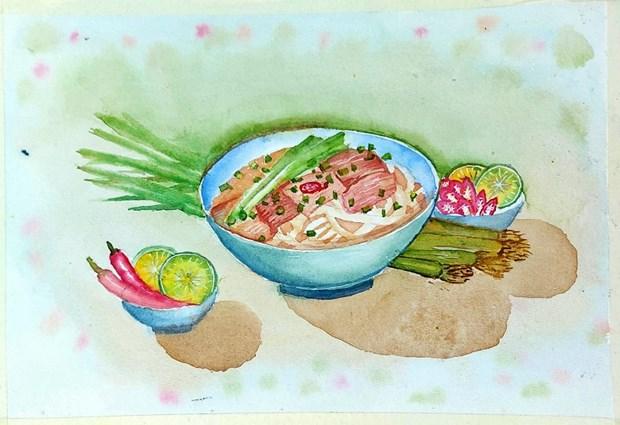 Les croquis des delices de Hanoi epatent la galerie hinh anh 5