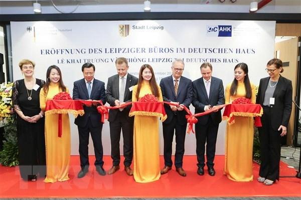 La ville allemande de leipzig ouvre son bureau de représentation à