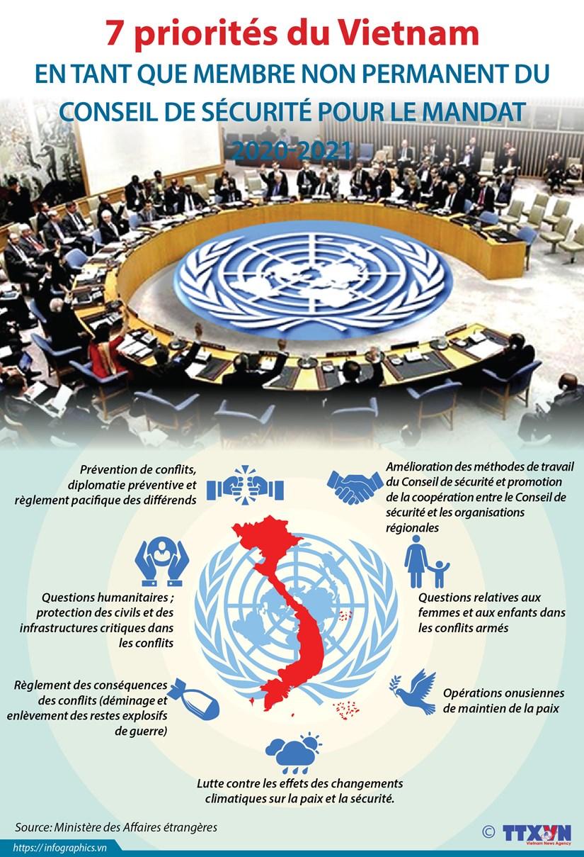 Les sept priorites du Vietnam en tant que membre non permanent du Conseil de securite de l'ONU hinh anh 1
