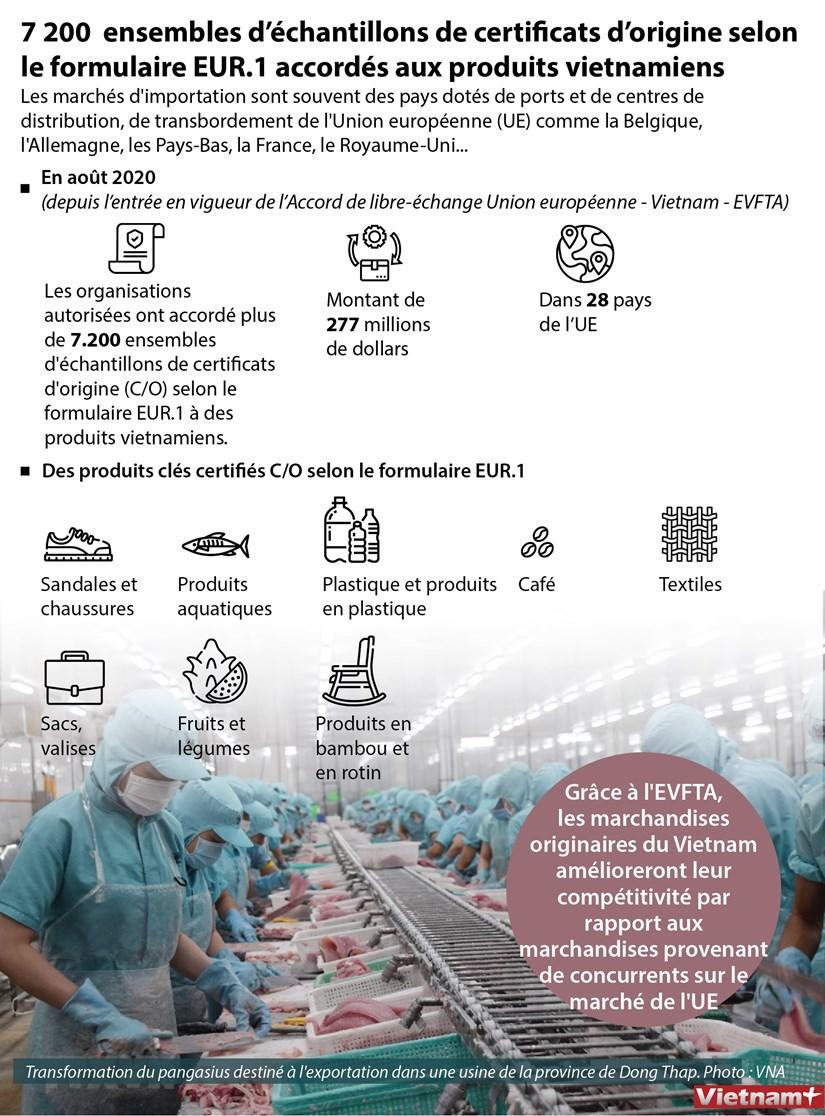 7 200 ensembles d'echantillons de certificats d'origine accordes aux produits vietnamiens hinh anh 1