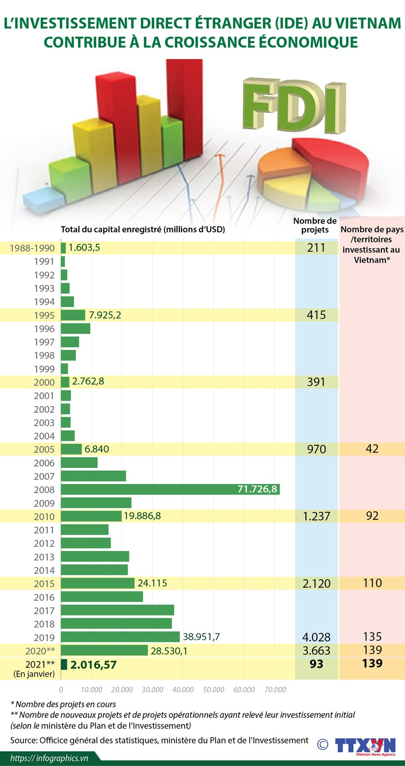 L'investissement direct etranger au Vietnam contribue a la croissance economique hinh anh 1