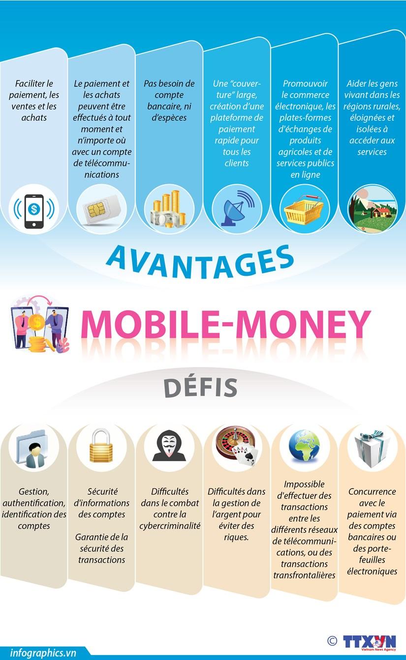 """Avantages et defis du service de paiement """"Mobile-Money"""" hinh anh 1"""