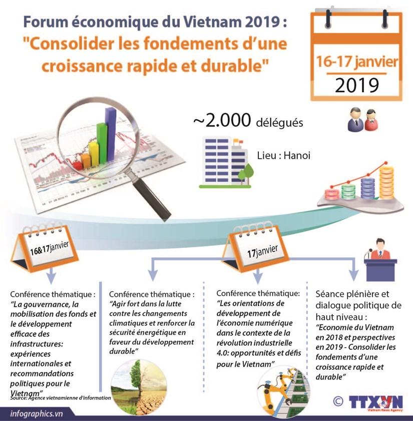 Forum economique du Vietnam 2019 : hinh anh 1