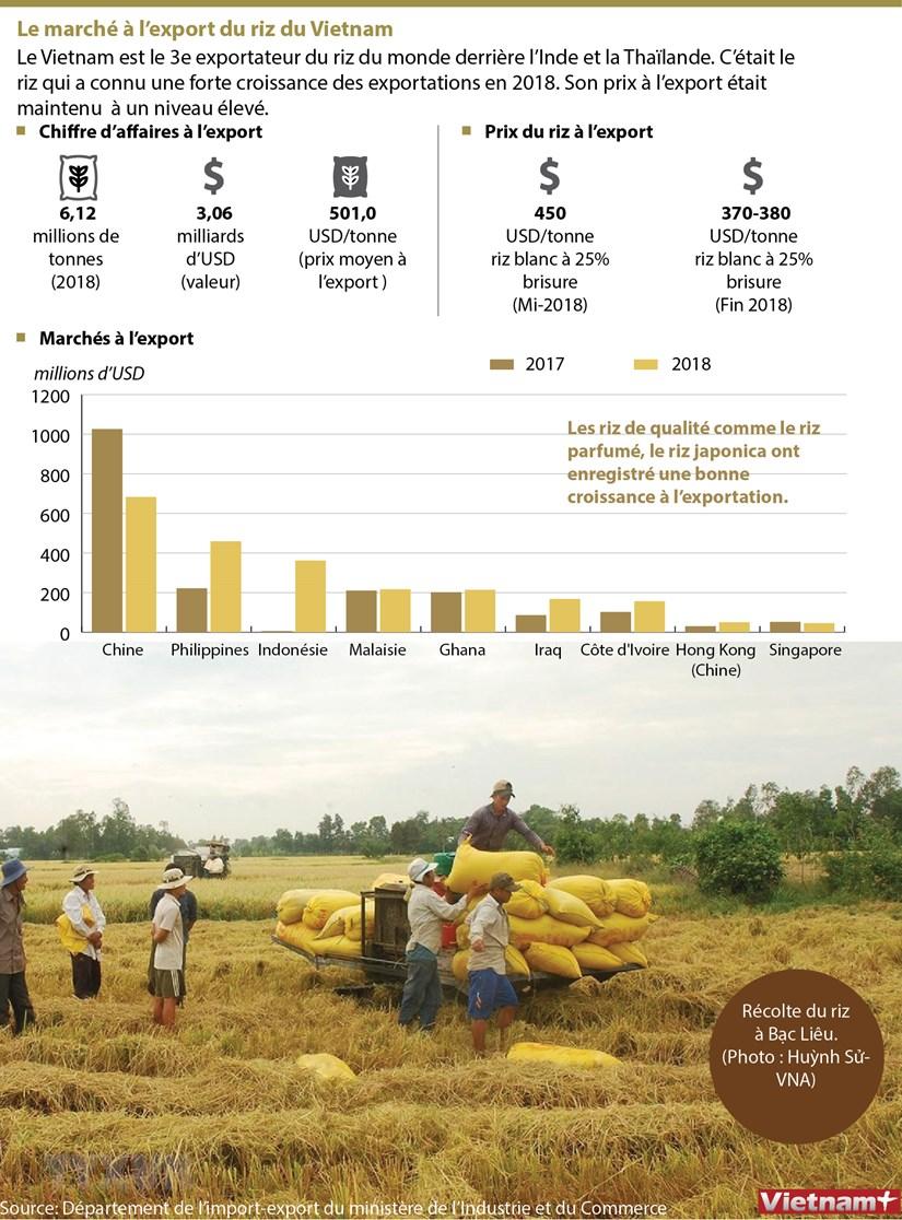 Le marche a l'export du riz du Vietnam hinh anh 1