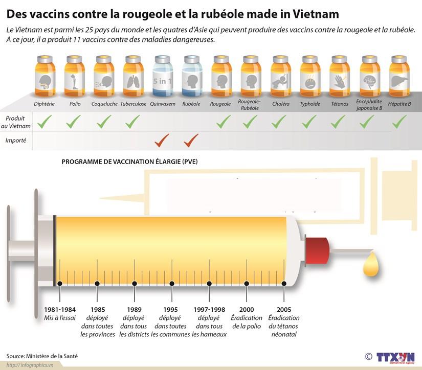 Des vaccins made in Vietnam contre la rougeole et la rubeole hinh anh 1