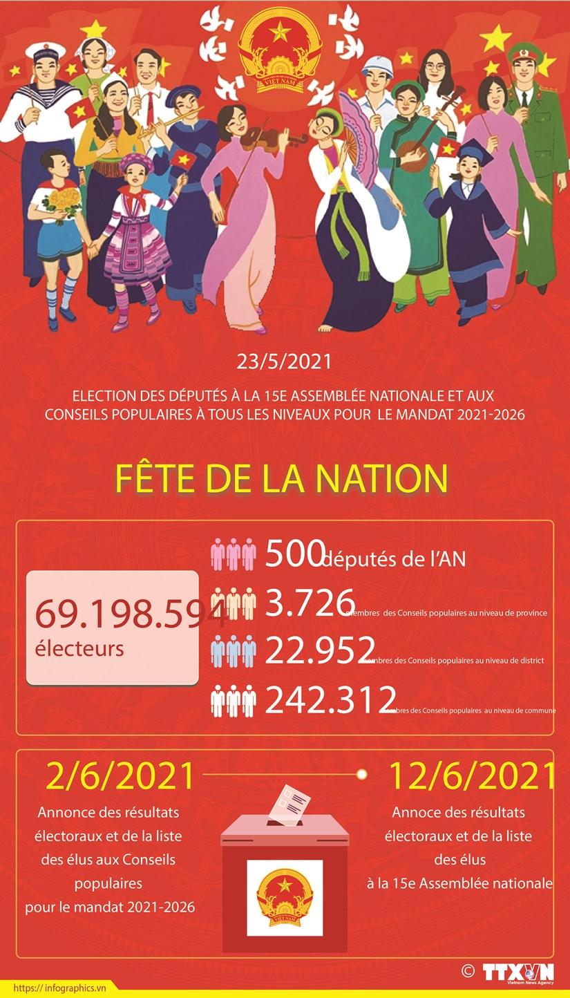 Elections legislatives: Fete de la nation hinh anh 1