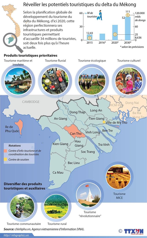 Reveiller les potentiels touristiques du delta du Mekong hinh anh 1