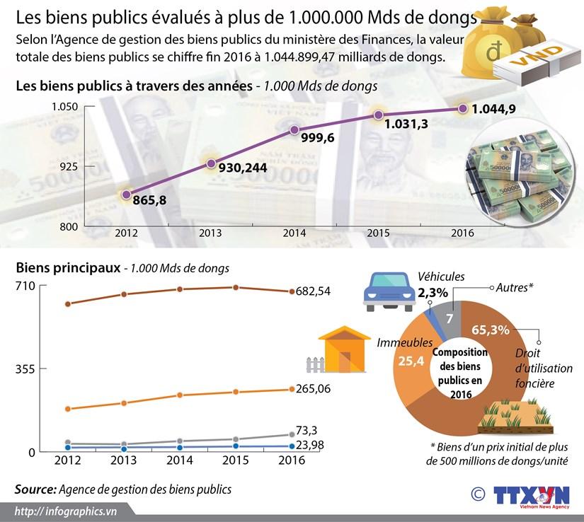 Les biens publics evalues a plus de 1.000.000 Mds de dongs hinh anh 1