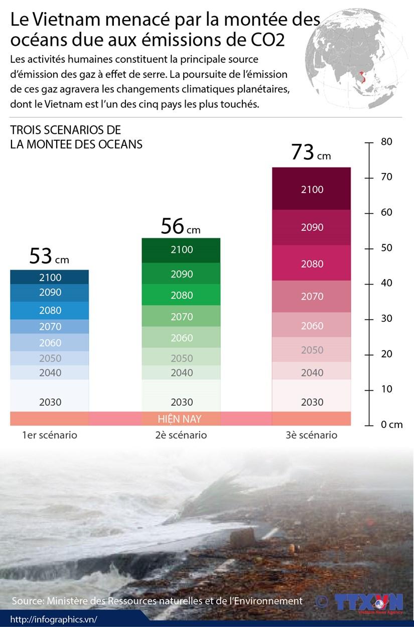 Le Vietnam menace par la montee des oceans due aux emissions de CO2 hinh anh 1