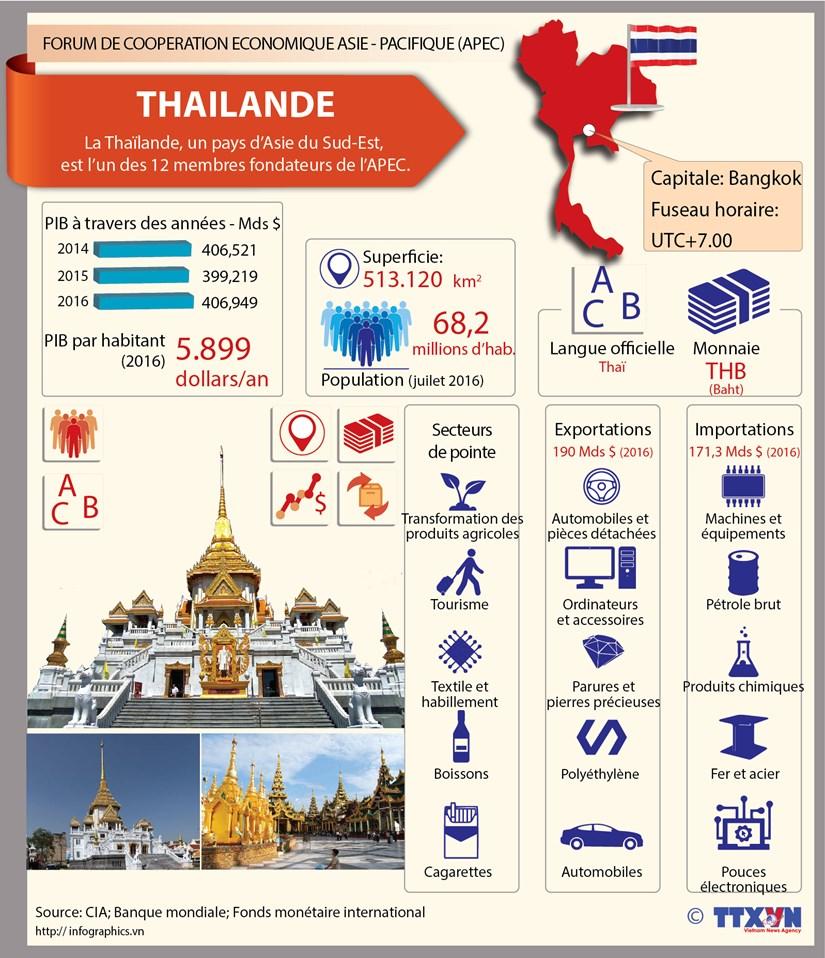 Membres de l'APEC - Thailande hinh anh 1