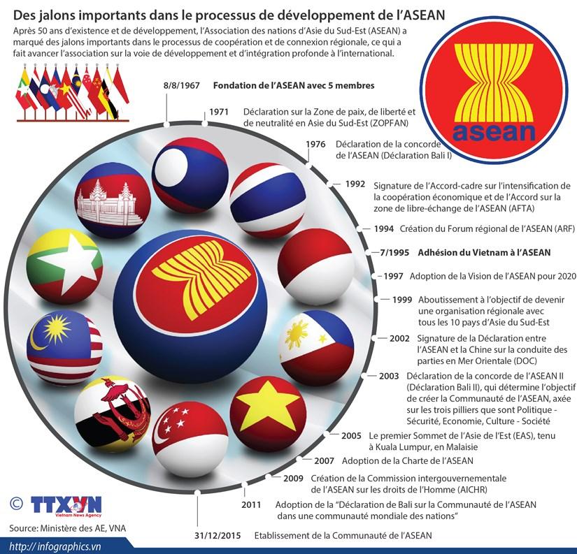 Des jalons importants dans le processus de developpement de l'ASEAN hinh anh 1