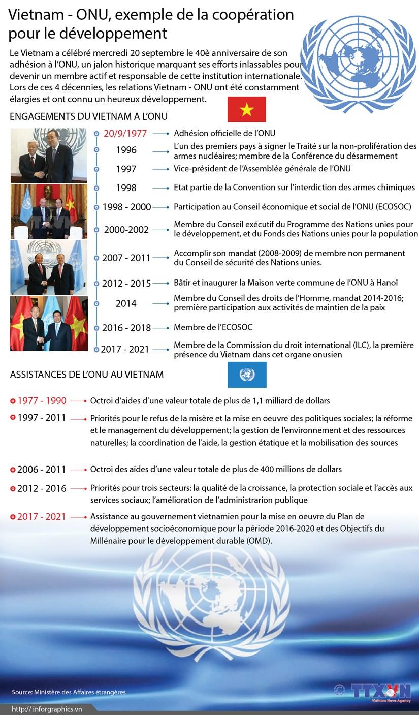 Vietnam - ONU, exemple de la cooperation pour le developpement hinh anh 1