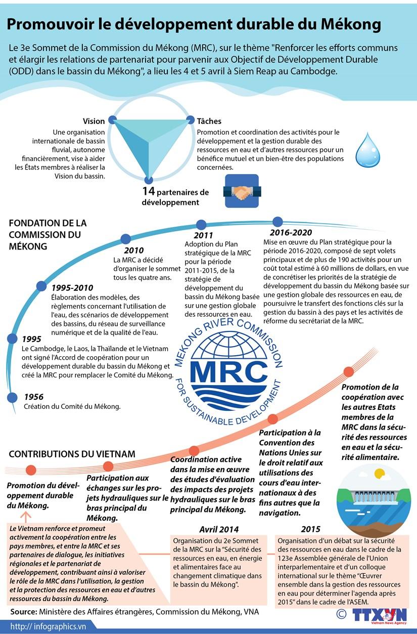 Promouvoir le developpement durable du Mekong hinh anh 1