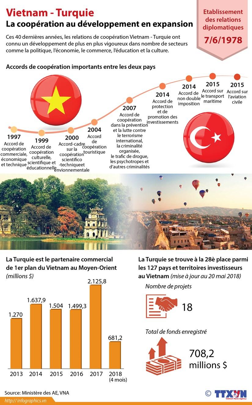 Vietnam - Turquie: la cooperation au developpement en expansion hinh anh 1