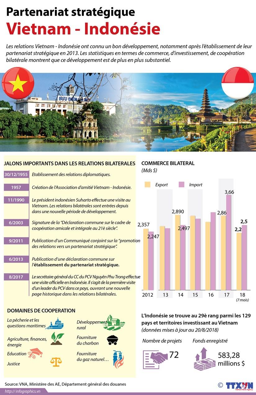 [Infographie] Partenariat strategique Vietnam - Indonesie hinh anh 1