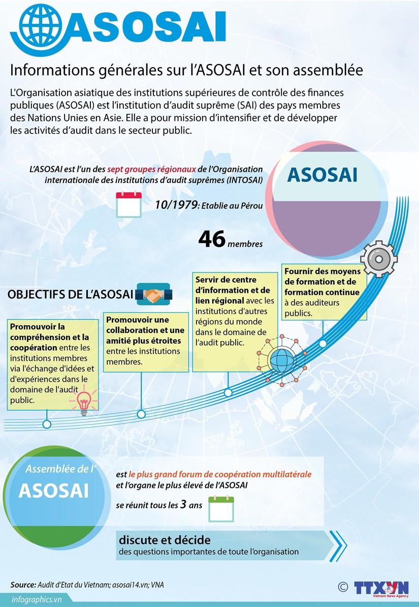 [Infographie] Informations generales sur l'ASOSAI et son assemblee hinh anh 1