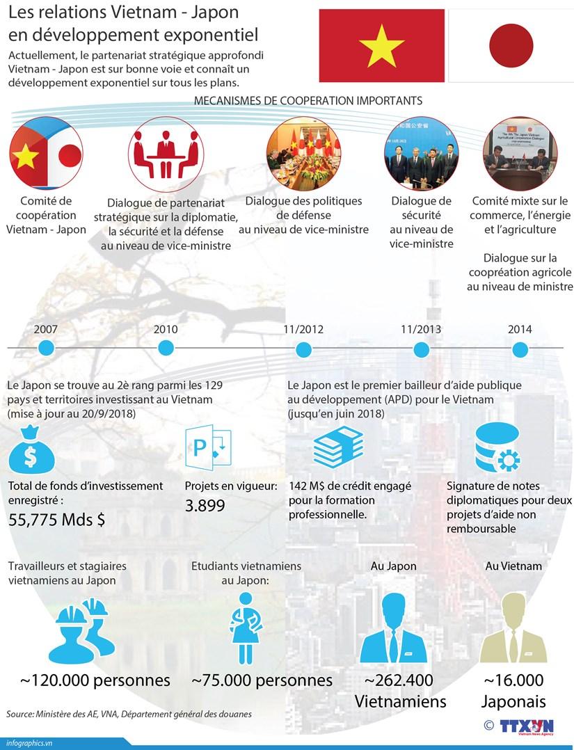 [Infographie] Les relations Vietnam - Japon en developpement exponentiel hinh anh 1