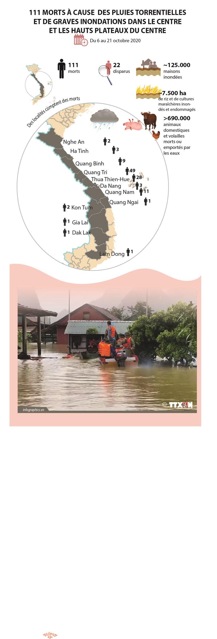 111 morts a cause des inondations dans le Centre et les Hauts Plateaux du Centre hinh anh 1