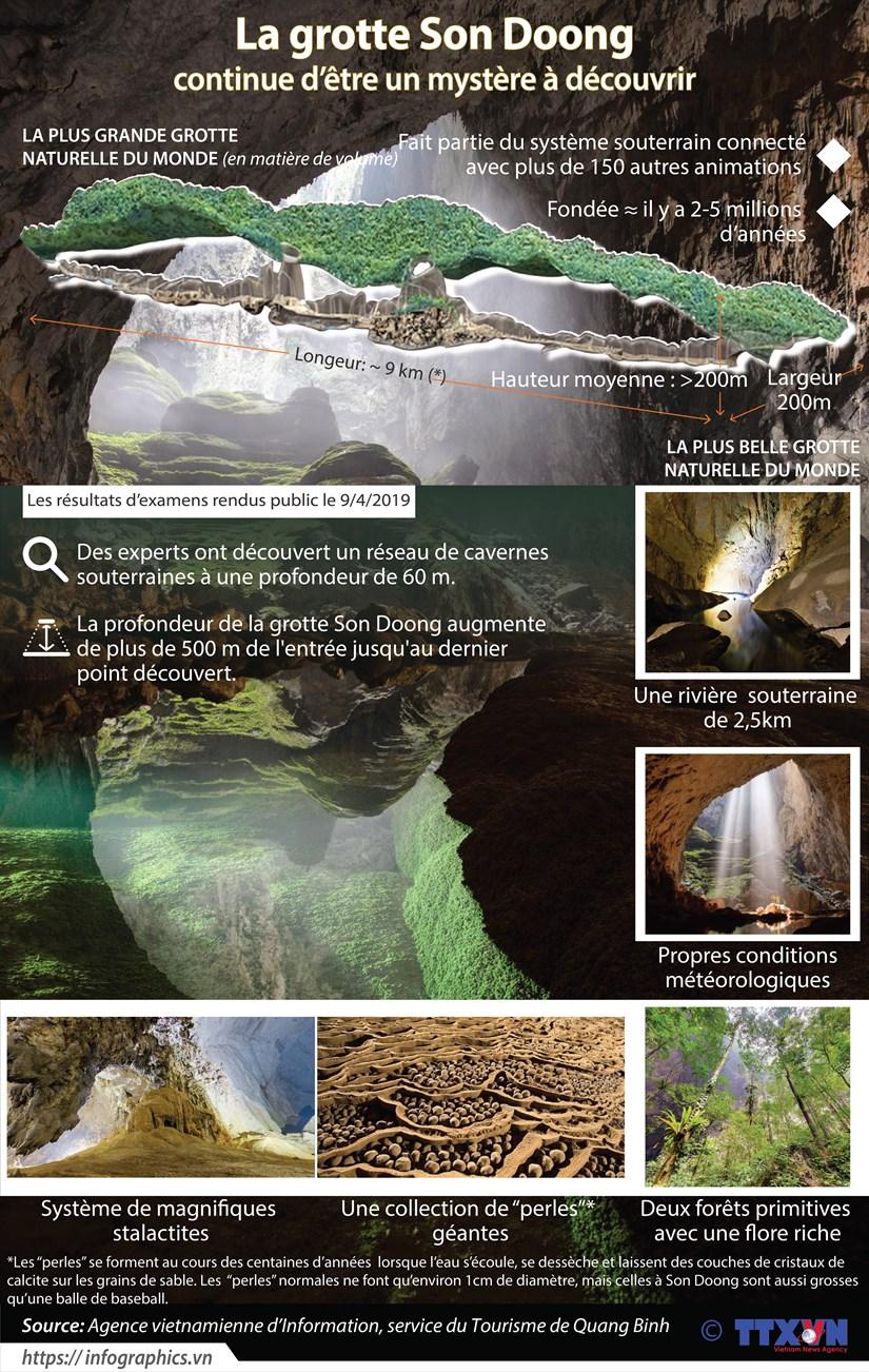 La grotte Son Doong continue d'etre un mystere a decouvrir hinh anh 1