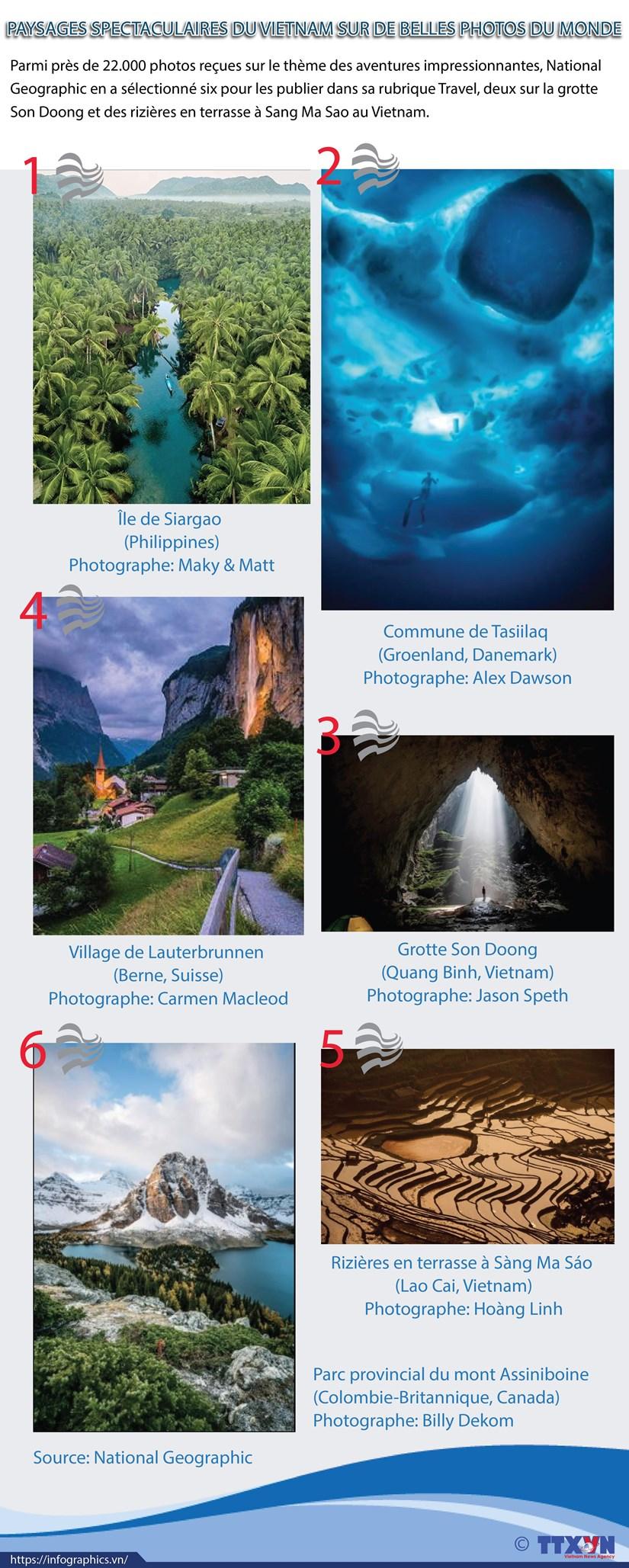 Paysages spectaculaires du Vietnam sur de belles photos du monde hinh anh 1