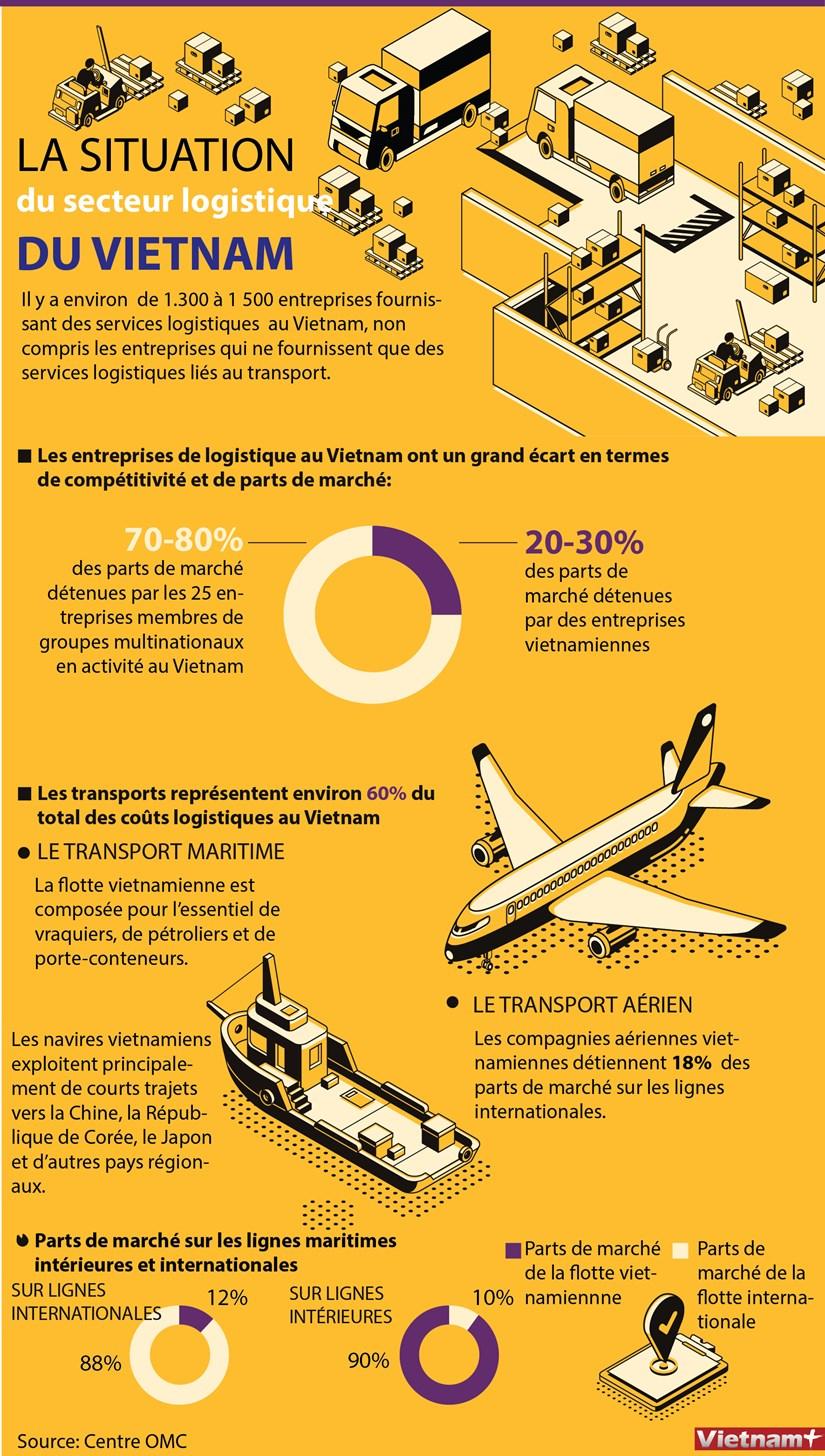 La situation du secteur logistique du Vietnam hinh anh 1